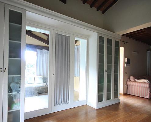 Custom made furniture for a villa