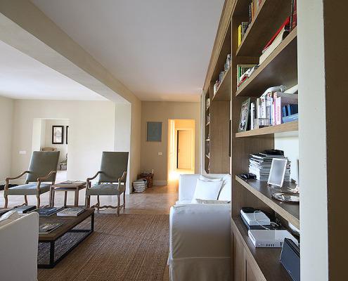 Interior renovation and luxury furnishings