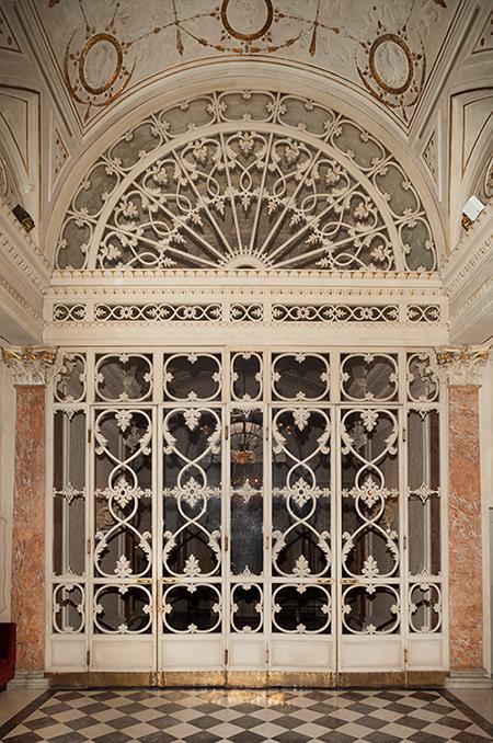 restauro portali lignei Pergola Firenze